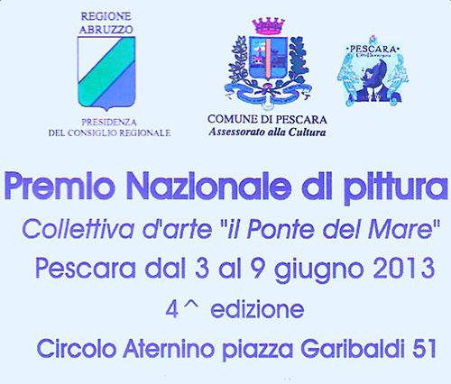 """Premio nazionale di pittura - """"Il ponte del mare"""""""