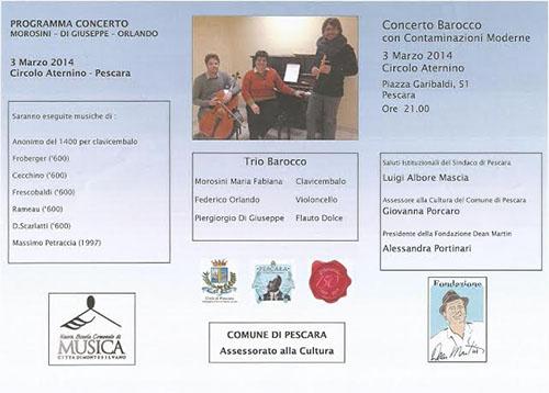 Concerto Morosini, Di Giuseppe, Orlando