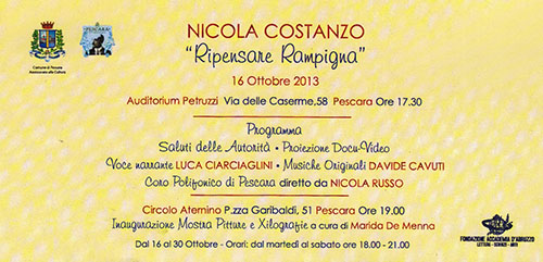 Nicola Costanzo - Ripensare Rampigna