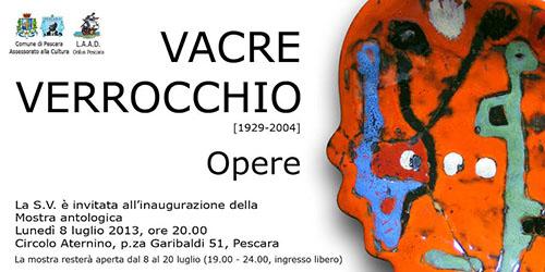 Vacre Verrocchio - Opere